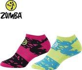 Zumba Compress Socks Set Maat 38-42 Compressiekousen - Compressiesokken