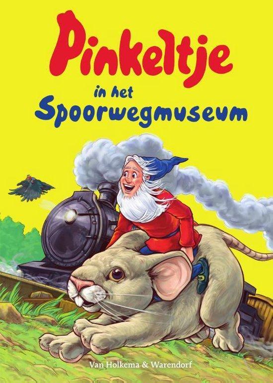 Pinkeltje 34 -   Pinkeltje in het Spoorwegmuseum