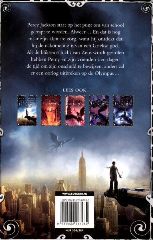 Percy Jackson en de Olympiërs - De bliksemdief - Rick Riordan