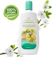 100% Organic Shampoo Haargroei Versneller & Dikker Glanzend Haar - 400ml