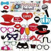 Lumaland - Party prop set - Huwelijk - photobooth - foto accessoires - Bruiloft