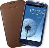 Samsung Pouch voor de Samsung Galaxy S3 - Donkerbruin