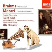 Brahms: Violin Concerto; Mozart: Sinfonia concertante