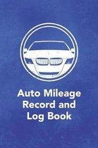 Auto Mileage Record and Log Book