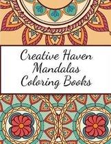 Creative Haven Mandalas Coloring Books