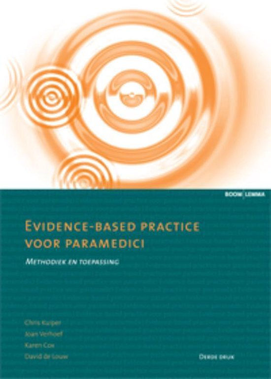 Evidence-based practice voor paramedici - none pdf epub