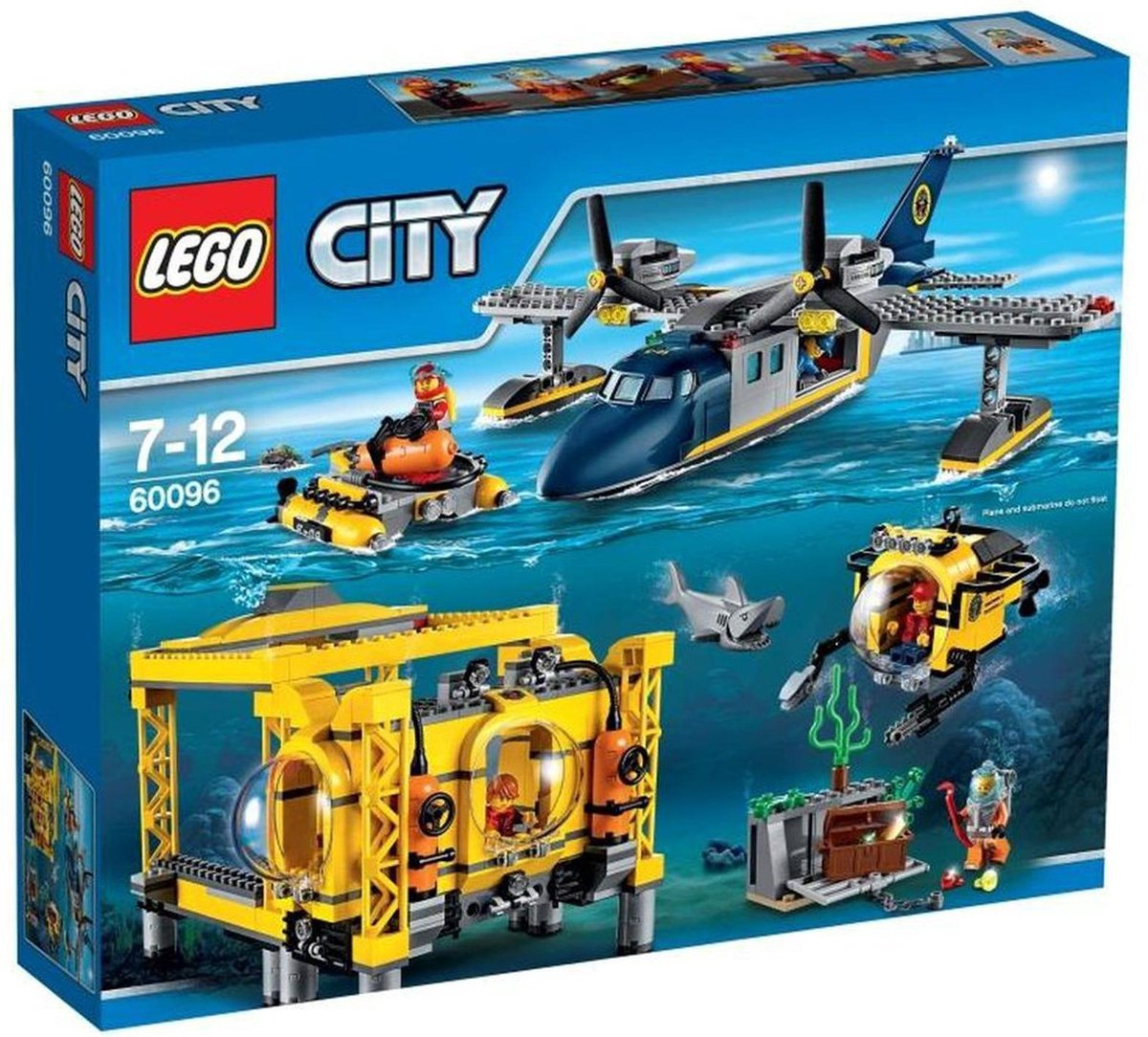 LEGO City Diepzee Station - 60096 - LEGO