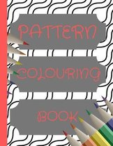 Pattern colouring book