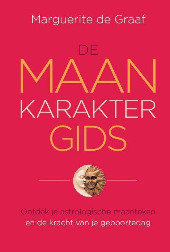 Cover van het boek 'De maankarakter gids' van Marguerite de Graaf
