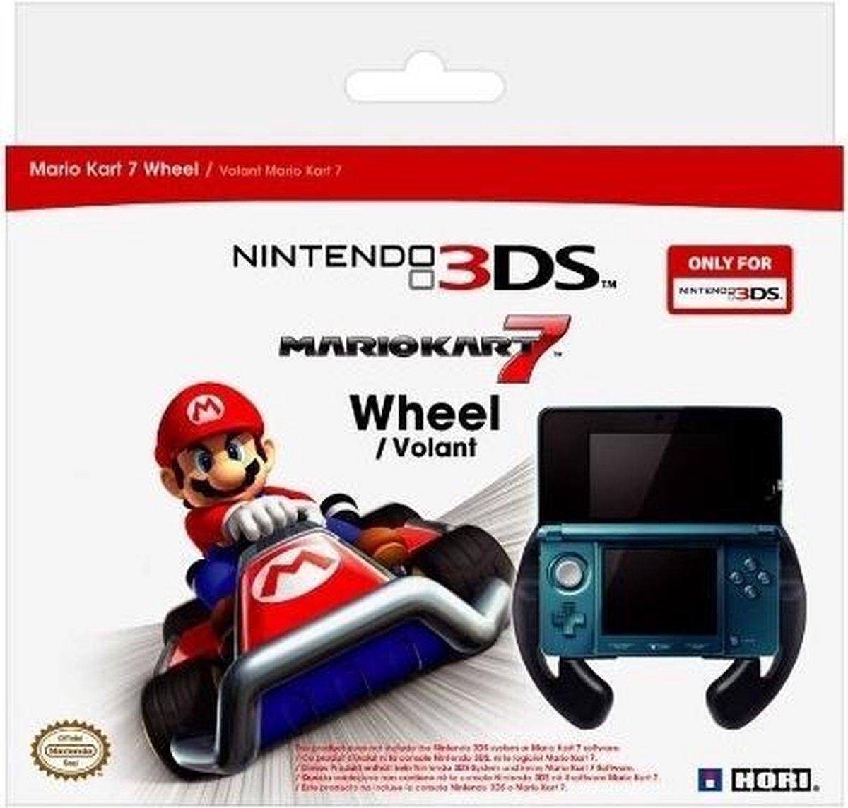 Hori Mario Kart 7 racestuur - Geschikt voor Nintendo 3DS