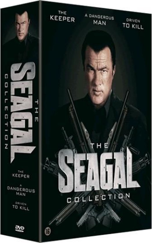 Cover van de film 'Steven Seagal Box'