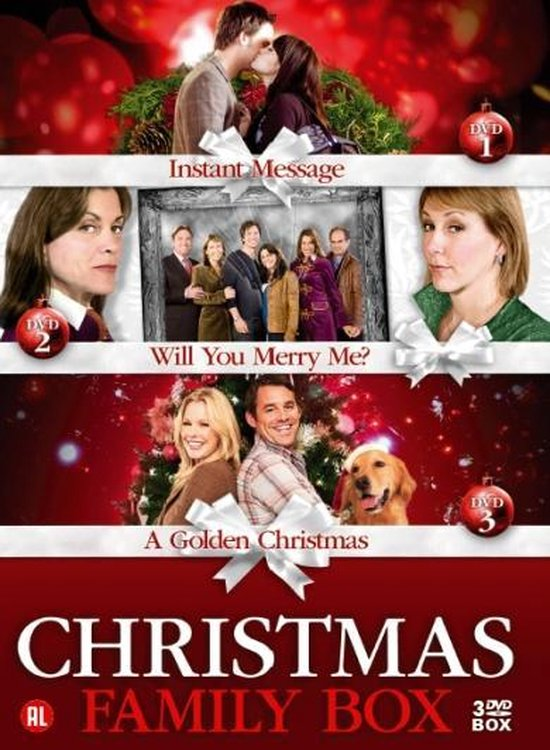 Cover van de film 'Christmas Box: A Golden Christmas/ Instant Message/ Will You Merry Me'
