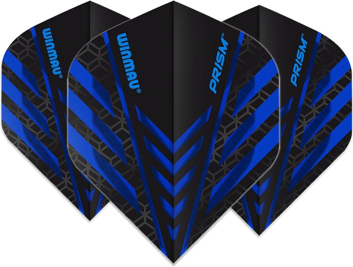 Winmau Prism dart flight blauw