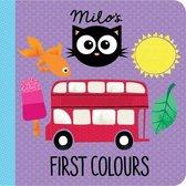 Boek cover Milos First Colours van Rowena Blyth (Onbekend)