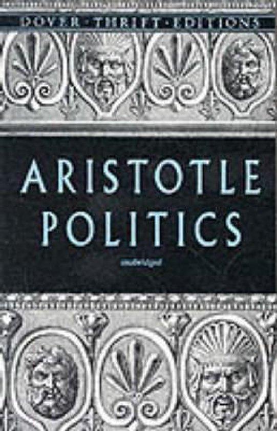 Boek cover Politics van Aristotle (Paperback)