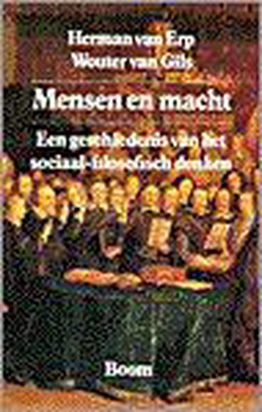 Boek cover Mensen en macht van Herman van Erp (Paperback)
