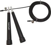 Tunturi Verstelbaar Springtouw - Sport springtouw - Fitness springtouw - Speed Rope - Zwart
