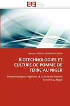 Biotechnologies Et Culture de Pomme de Terre Au Niger