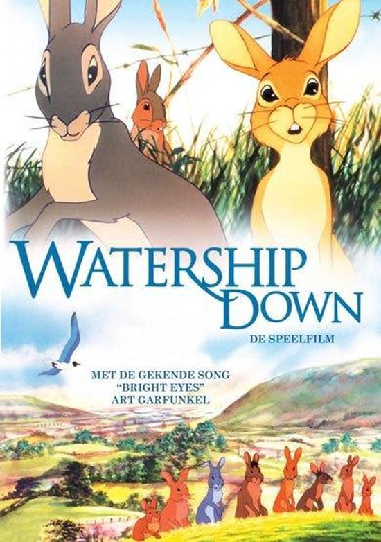 Cover van de film 'Watership Down'