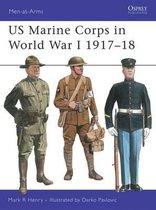 Boek cover US Marine Corps in World War One van Mark Henry