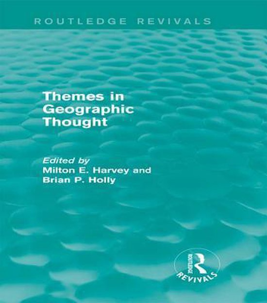 Boek cover Themes in Geographic Thought (Routledge Revivals) van  (Onbekend)