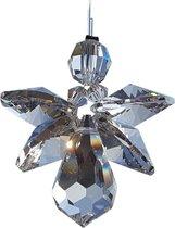 Geluksengel van Swarovski kristallen ( Raamkristal , Raamhanger , Regenboogkristal  , Engel )