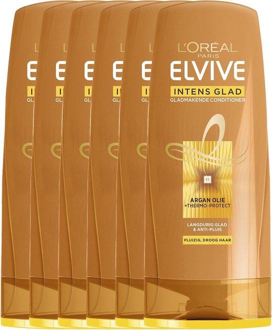 L'Oréal Paris Elvive Inten Glad Conditioner - 6 x 200 ml- Voordeelverpakking - L'Oréal Paris