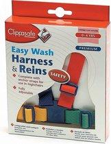 Clippasafe Easy Wash Veiligheidstuigje - Multicolor