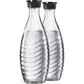 SodaStream duopack Glazen karaffen - 0,7L - Past alleen op Sodastream Crystal