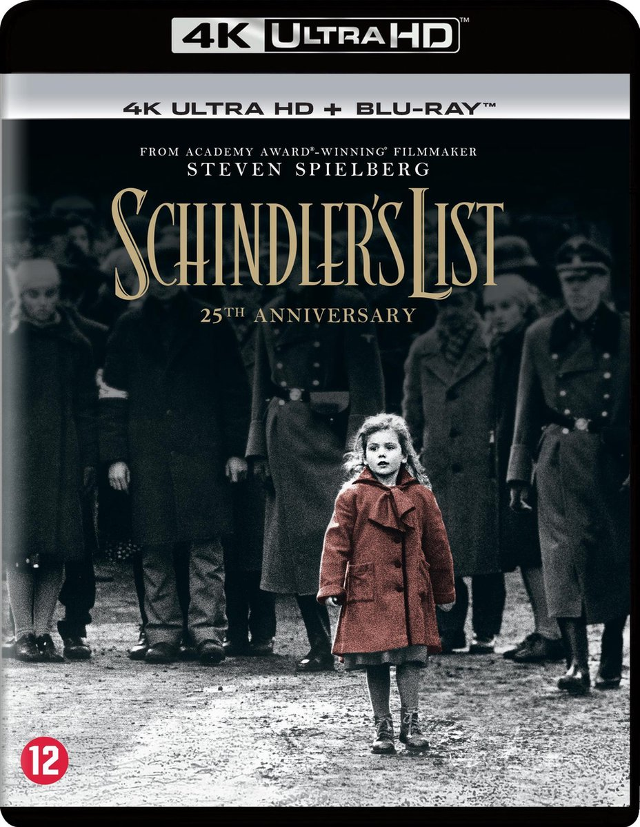 Schindler's List (25th Anniversary) (4K Ultra HD Blu-ray)-