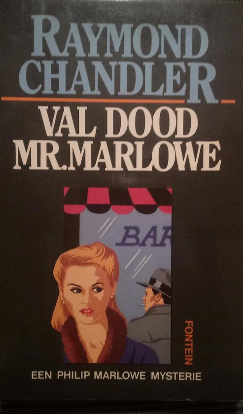 Val dood, Mr. Marlowe - Raymond Chandler   Fthsonline.com