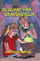 Boek cover De Valkeniers serie 5 - De schat van Gravensteijn / 5 van Leendert van Wezel