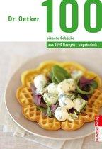 100 vegetarische pikante Gebäcke