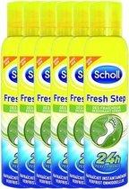 Scholl Fresh Step Deodorant Spray Voeten Voordeelverpakking