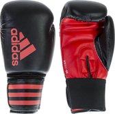 adidas Hybrid 50 (Kick)Bokshandschoenen Zwart/Rood 6 oz