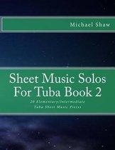 Sheet Music Solos For Tuba Book 2