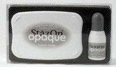 Stazon Opaque Cotton White + navulling