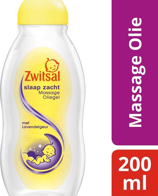 Zwitsal Massage Olie Lavendel 200ML