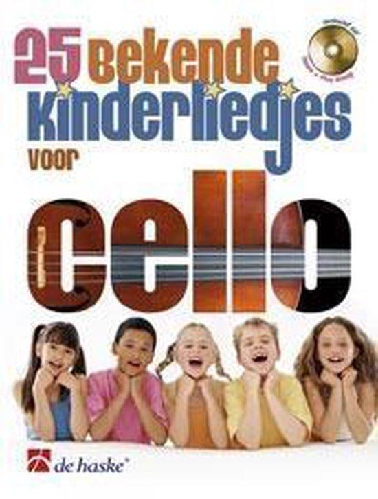 voor Cello 25 bekende kinderliedjes - Divers   Fthsonline.com