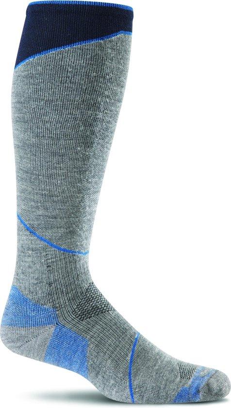 Sockwell sokken compressiekousen / wandelsokken / reiskousen SW24M.800 L/XL Ascend Grey