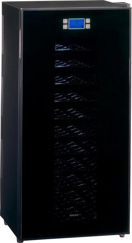 Koelkast: Temptech FW-180SB - wijnkoelkast  - 72 flessen, van het merk Temptech