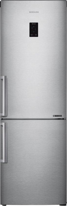 Koelkast: Samsung RB33J3315SA - Koel-vriescombinatie - zilver, van het merk Samsung