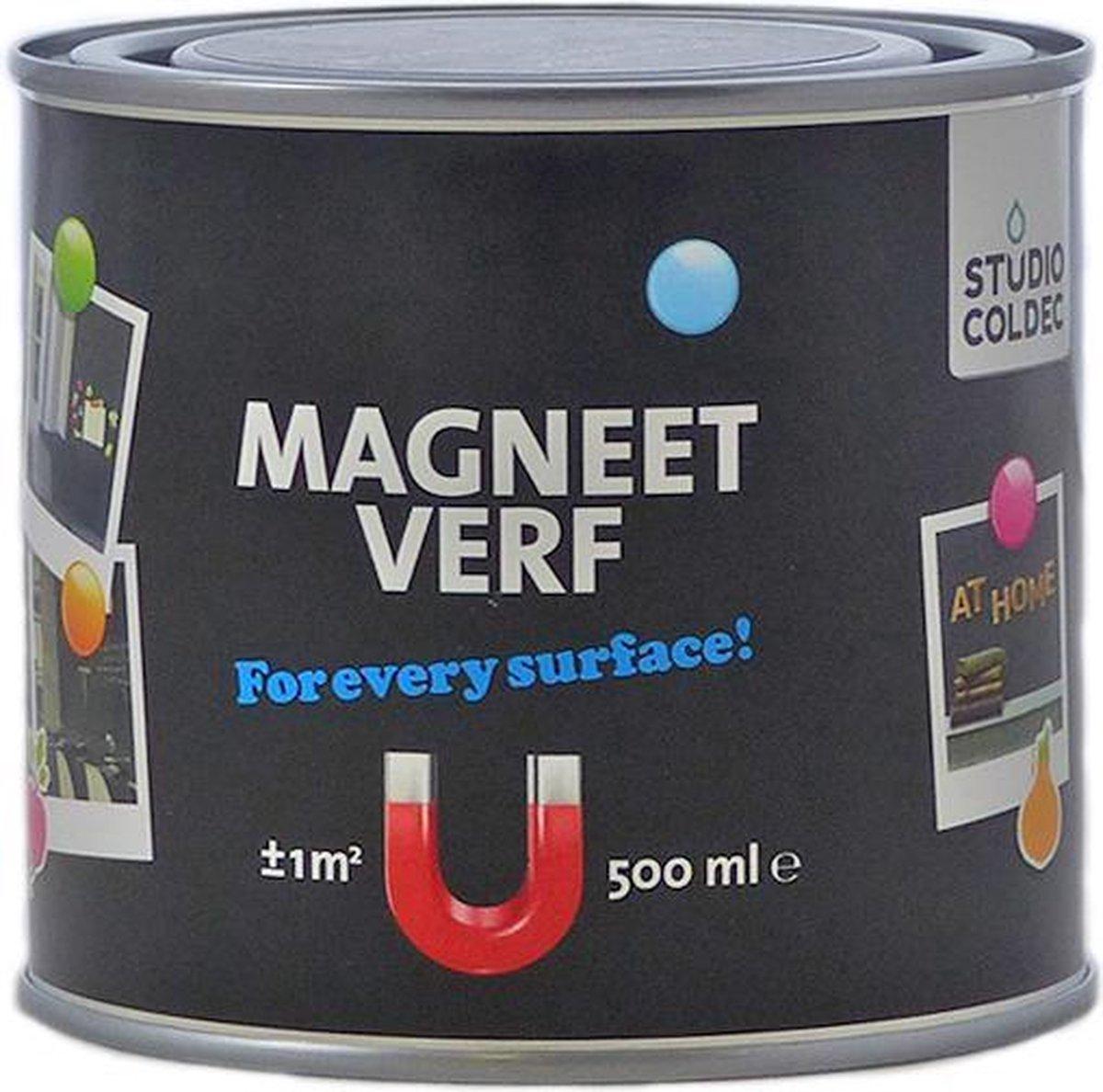 Studio Coldec Magneetverf zwart - 500 ml. - Studio Coldec