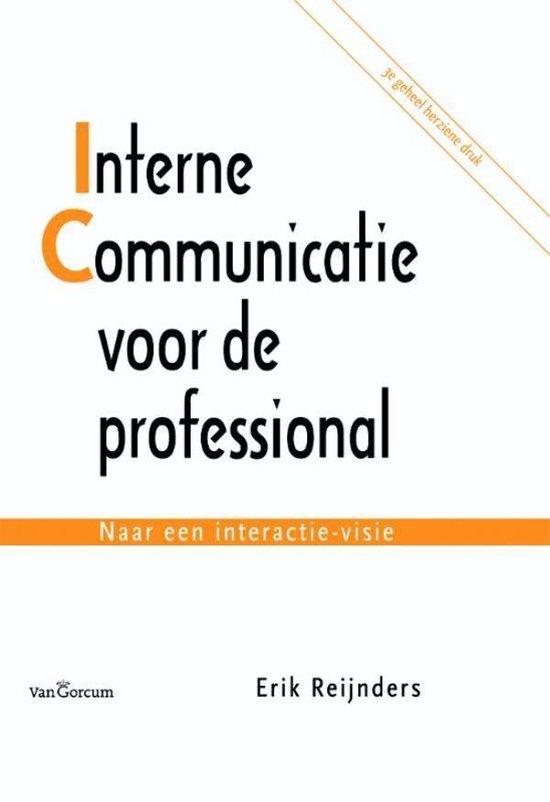 Interne communicatie voor de professional - Erik Reijnders  