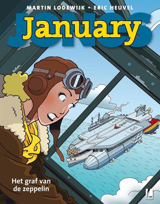 January Jones 6 - Het graf van de zeppelin - Martin Lodewijk  