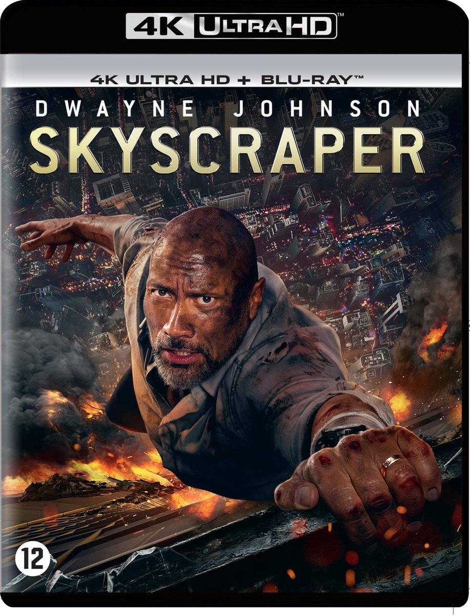 Skyscraper (4K Ultra HD Blu-ray)-