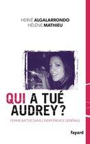 Omslag Qui a tué Audrey ?