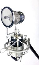 Studio condensator microfoon - direct op PC (5v) of 48v fantoomvoeding