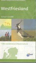 ANWB topografische wandelkaart - West-Friesland