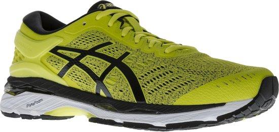 Asics Gel-Kayano 24 Hardloopschoenen - Maat 44.5 - Mannen - geel/zwart